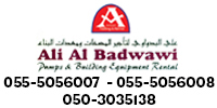Ali Al Badwawi Pumps & Building Equipment Rental