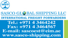 Sasco Global Shipping L.L.C.