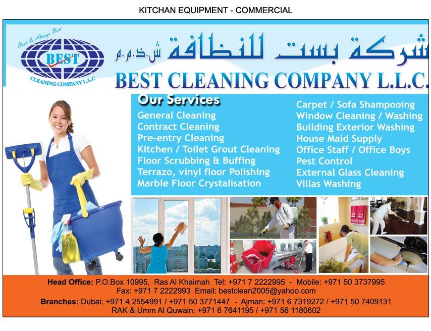 Best Cleaning Company L L C Ras Al Khaimah National