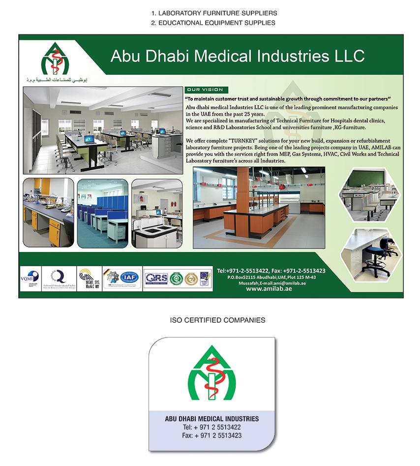 Abu Dhabi Medical Industries L L C , Abu Dhabi | National