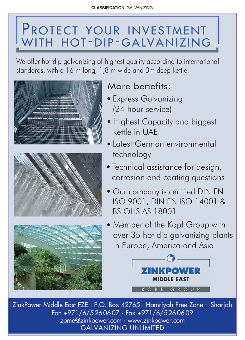 ZinkPower Middle East FZE, Sharjah | National Pink Pages