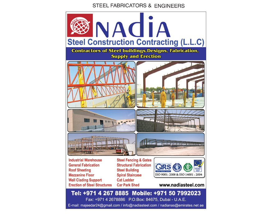 NAdiA Steel Construction and Contracting L L C , Dubai
