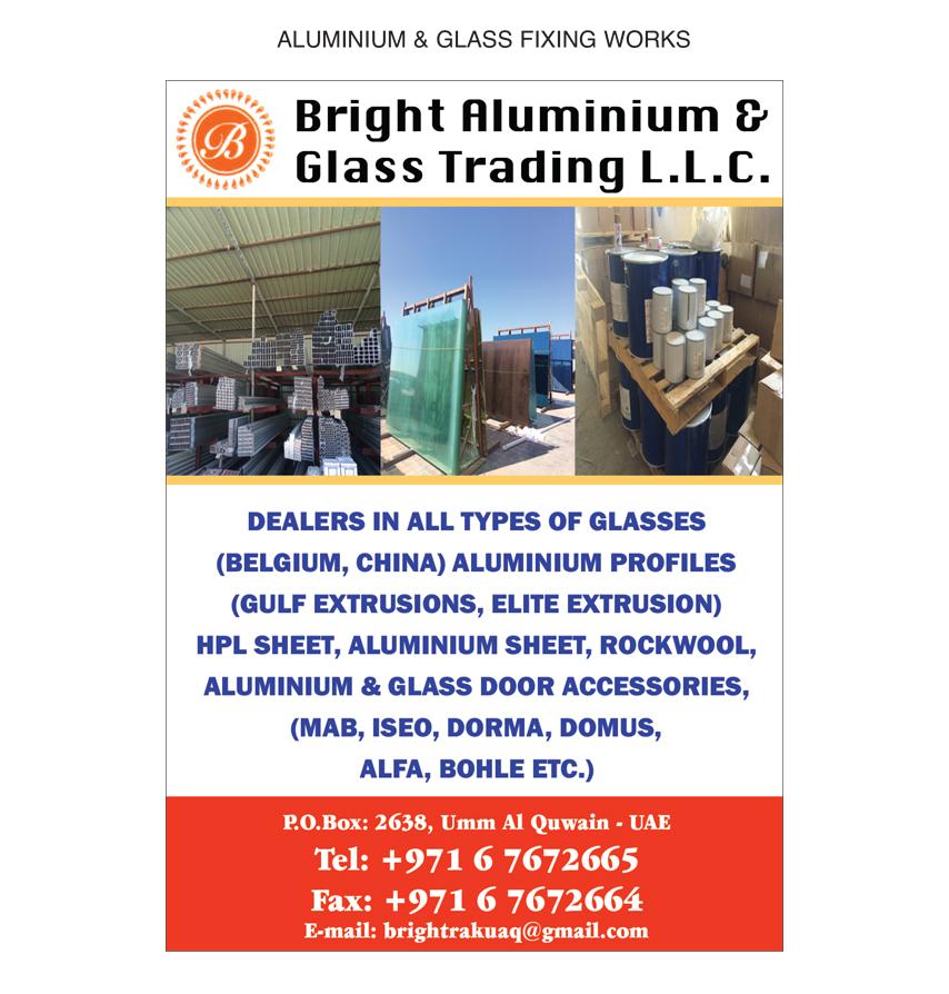 Bright Aluminium & Glass Trading LLC, Umm al-Quwain