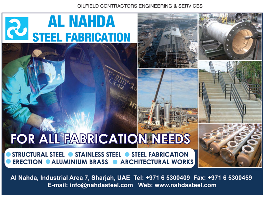 Al Nahda Steel Fabrication, Sharjah | National Pink Pages