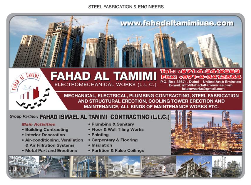 Fahad Al Tamimi Electromechanical Works LLC, Dubai | National Pink